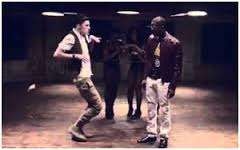 Dbanj's Oliver Twist video scene (Ghana Motion)