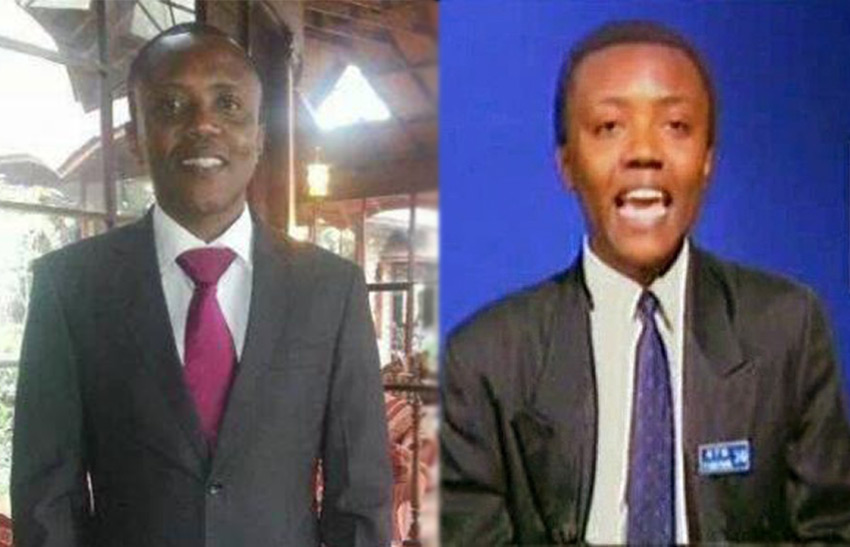 Maina was a presenter at Kenya Television Network (KTN) when this #TBT photo was taken