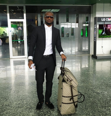 Peter Okoye, new manager, Olatunde Micheals and crew head to Dubai for solo performance (instagram)