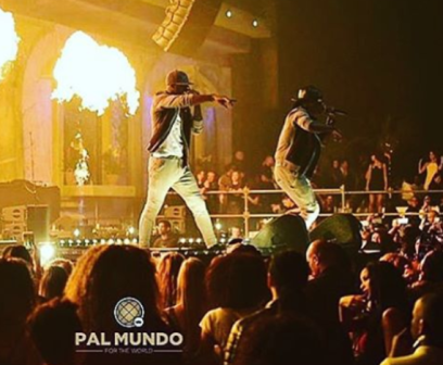 Psquare performing in Netherland (Instagram)