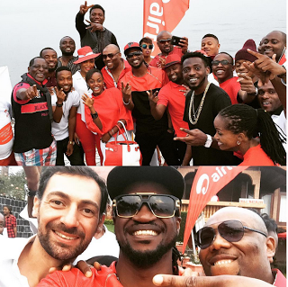 Paul Okoye performs in Goma, Congo (lindaikejisblog)