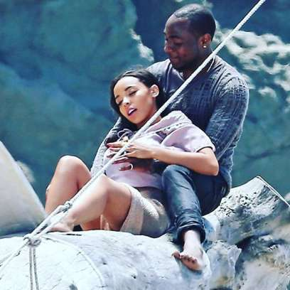 Davido and Tinashe 'How long' video shoot (Instagram)