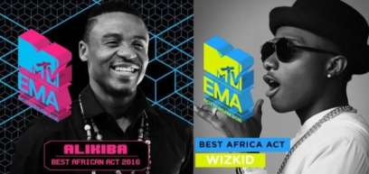 Wizkid forfeits MTV EMA Best Africa Act to Alikiba (MTV)