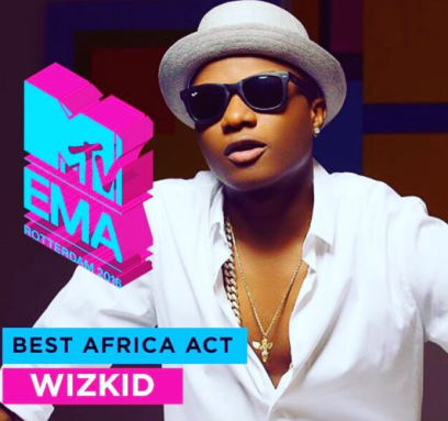 Wizkid wins MTV Europe Music Awards 2016. (Instagram)